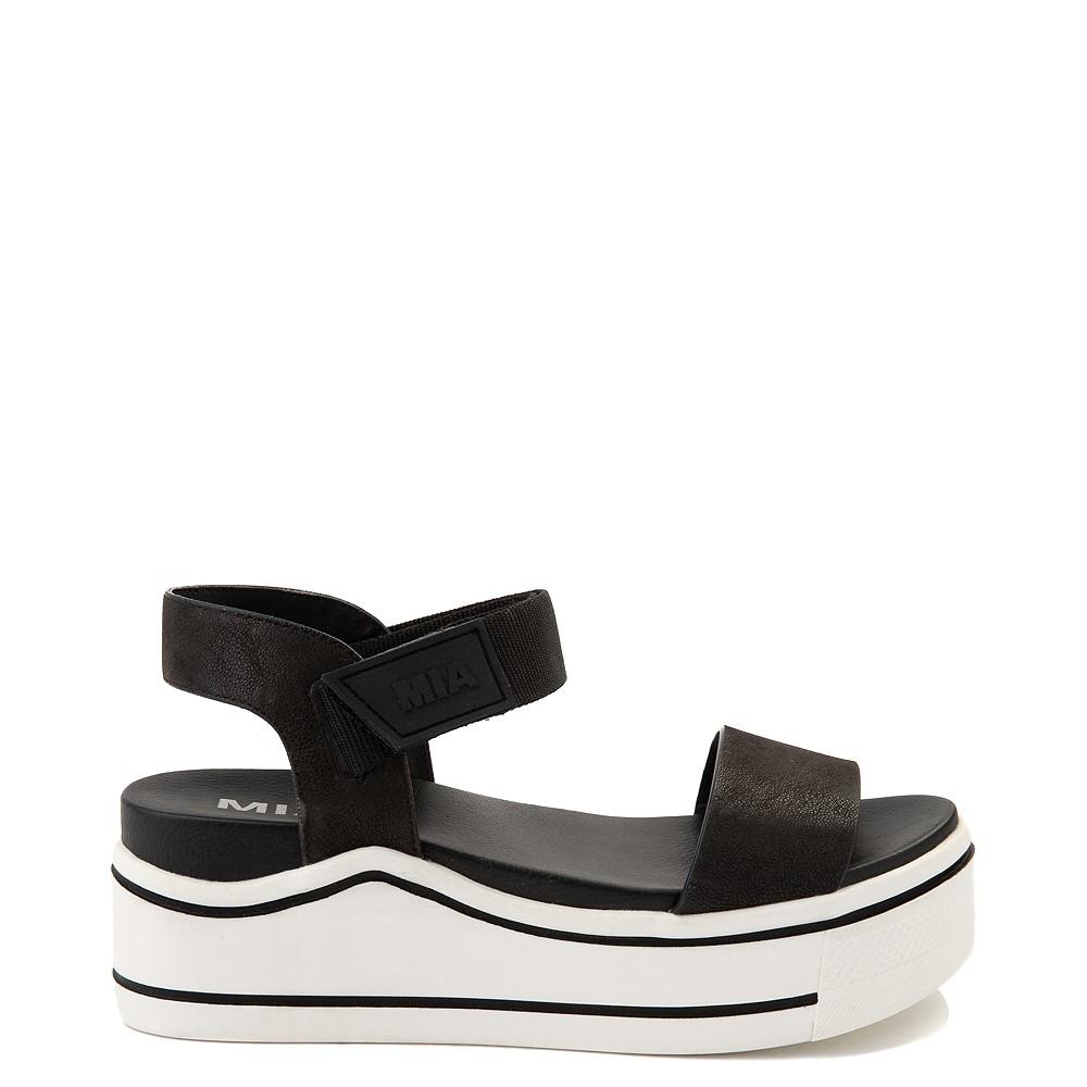 Womens MIA Odelia Platform Sandal - Black