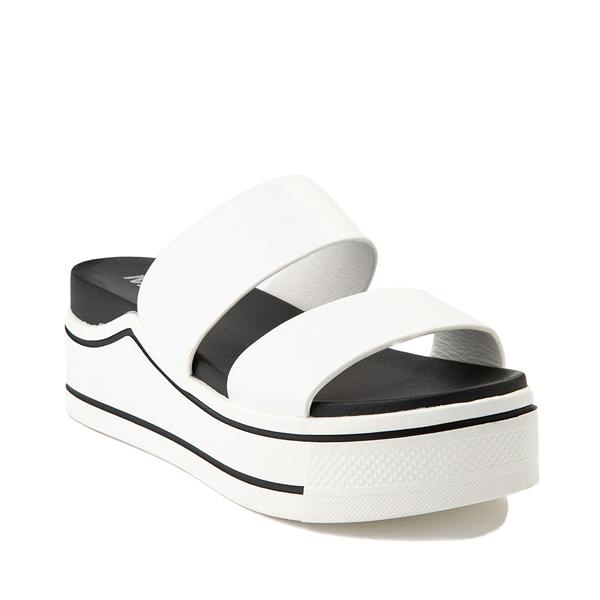 alternate view Womens MIA Ozzie Platform Slide Sandal - WhiteALT5