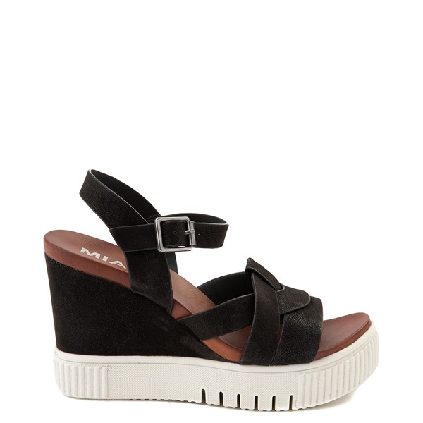 Main view of Womens MIA Marcella Platform Sandal - Black