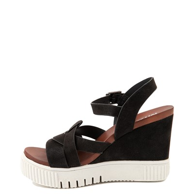 Alternate view of Womens MIA Marcella Platform Sandal - Black