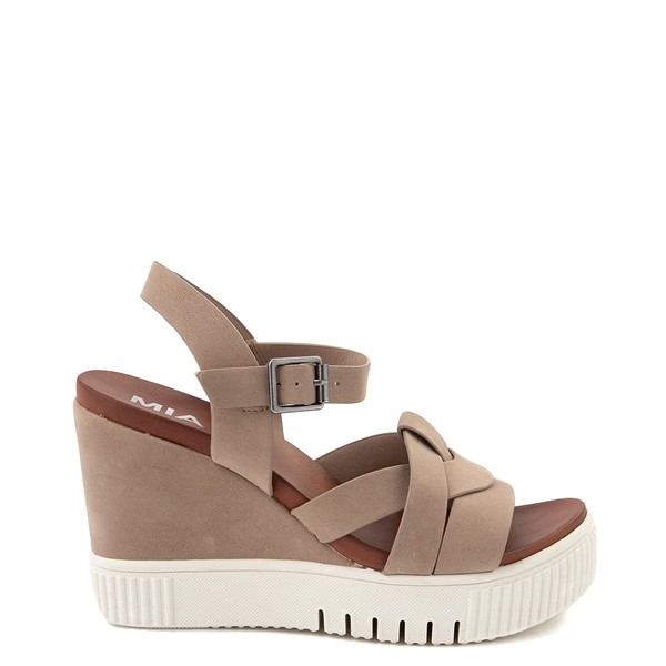 Main view of Womens MIA Marcella Platform Sandal - Stone