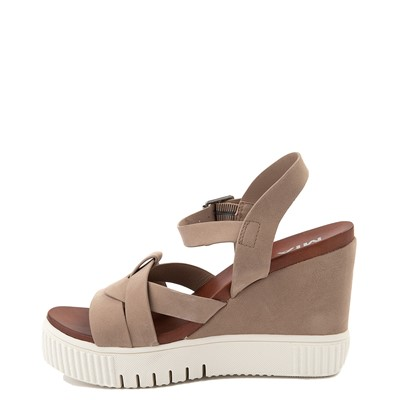 Alternate view of Womens MIA Marcella Platform Sandal - Stone