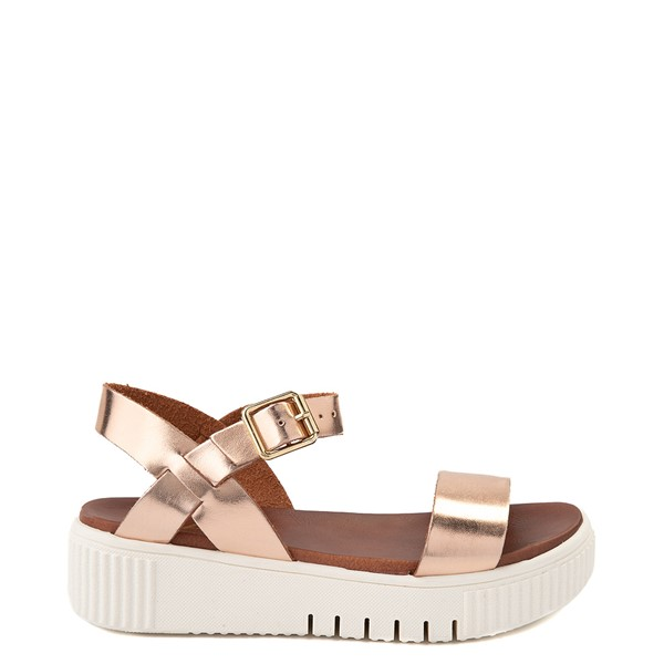 Main view of Womens MIA Leanna Platform Sandal - Rose Gold