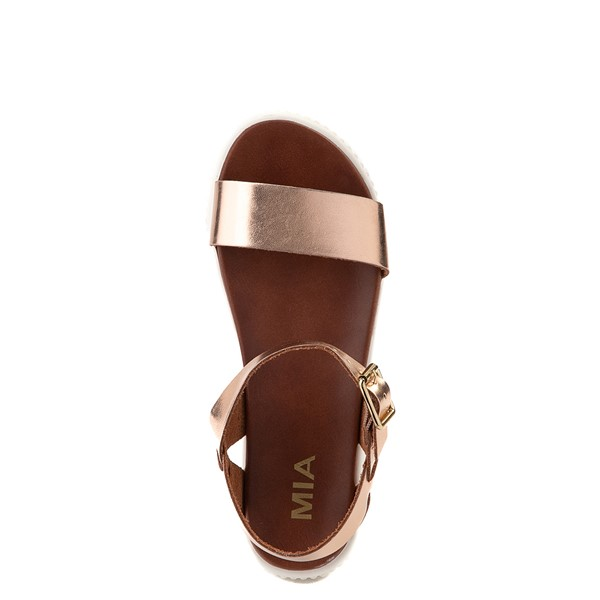 alternate view Womens MIA Leanna Platform Sandal - Rose GoldALT2