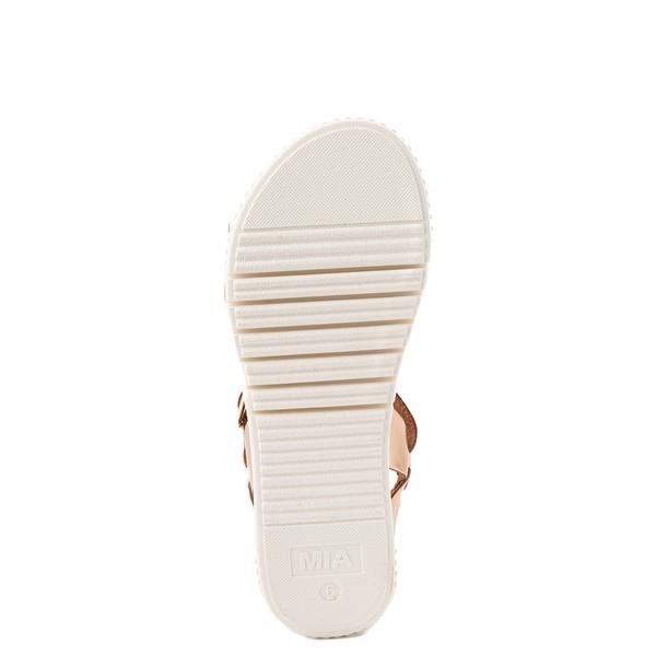 alternate view Womens MIA Leanna Platform Sandal - Rose GoldALT3