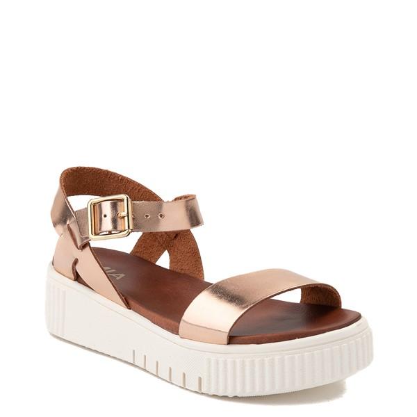 alternate view Womens MIA Leanna Platform Sandal - Rose GoldALT5