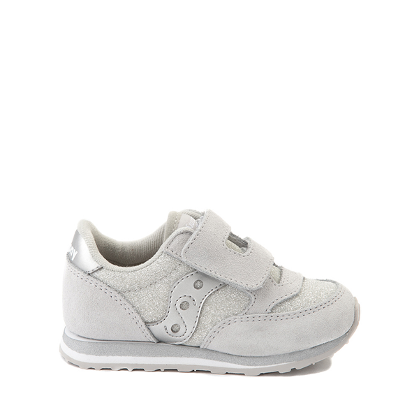 Main view of Saucony Jazz Athletic Shoe - Baby / Toddler / Little Kid - Silver Metallic