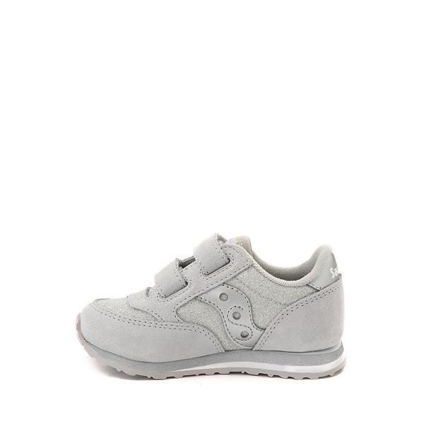 alternate view Saucony Jazz Athletic Shoe - Baby / Toddler / Little Kid - Silver MetallicALT1