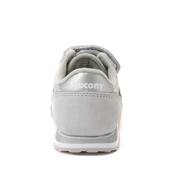 alternate view Saucony Jazz Athletic Shoe - Baby / Toddler / Little Kid - Silver MetallicALT4