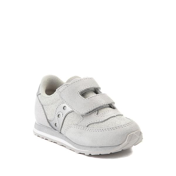 alternate view Saucony Jazz Athletic Shoe - Baby / Toddler / Little Kid - Silver MetallicALT5