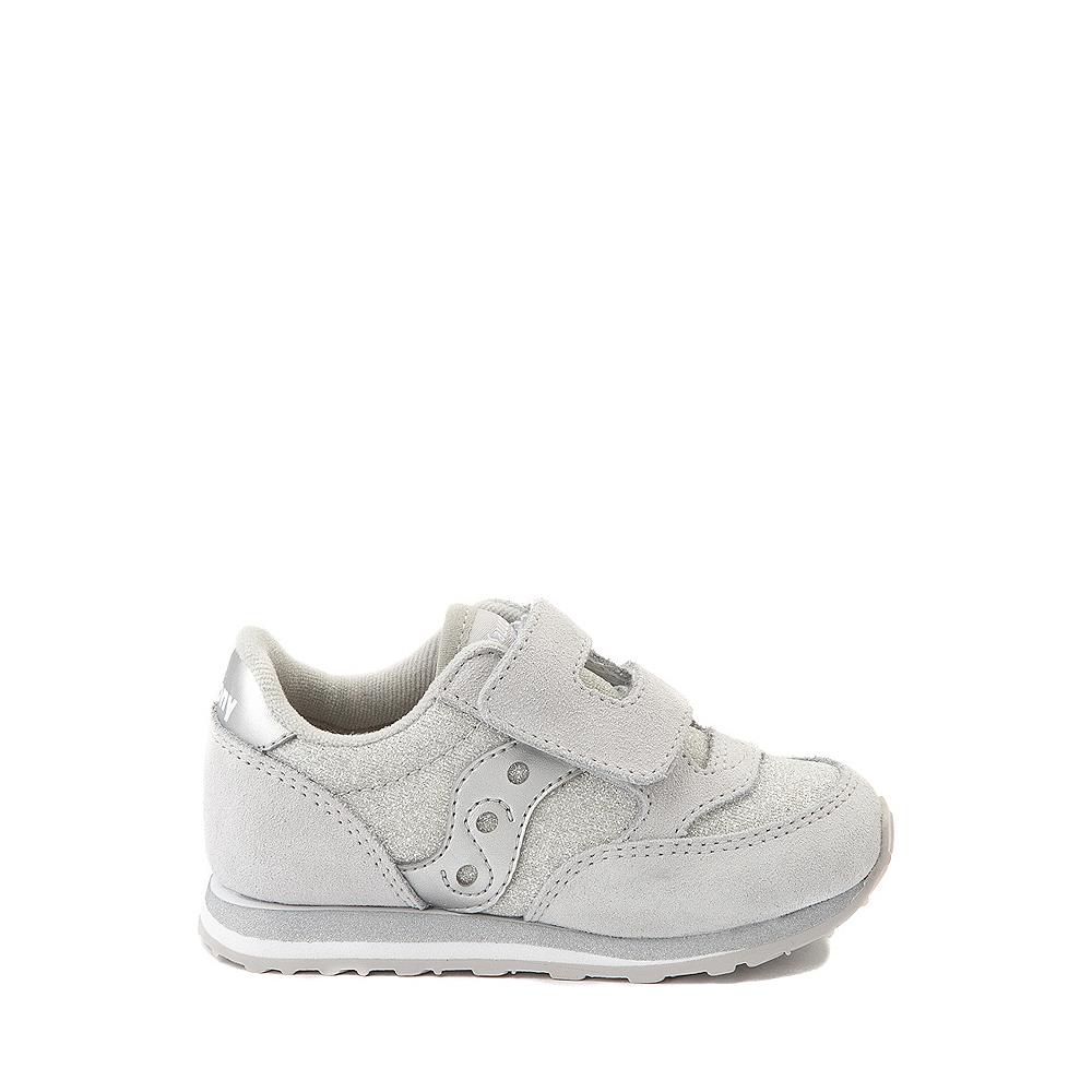 Saucony Jazz Athletic Shoe - Baby / Toddler / Little Kid - Silver Metallic