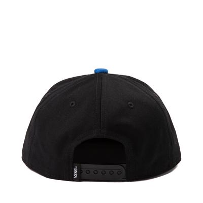 Alternate view of Vans OG DNA Snapback Hat - Little Kid - Black / Nautical Blue