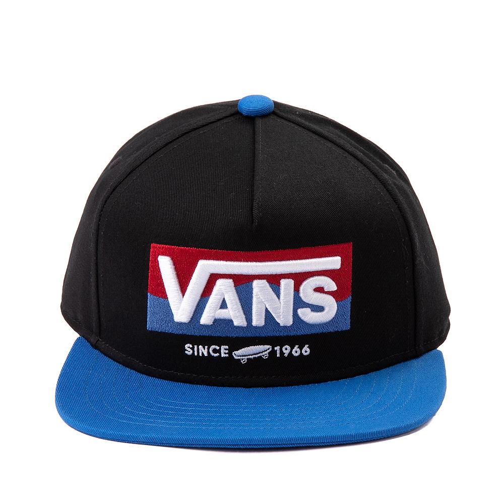 Vans OG DNA Snapback Hat - Little Kid - Black / Nautical Blue