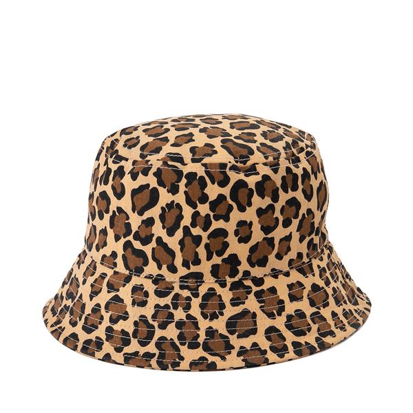 alternate view Leopard Bucket Hat - Little Kid / Big Kid - MulticolorALT1