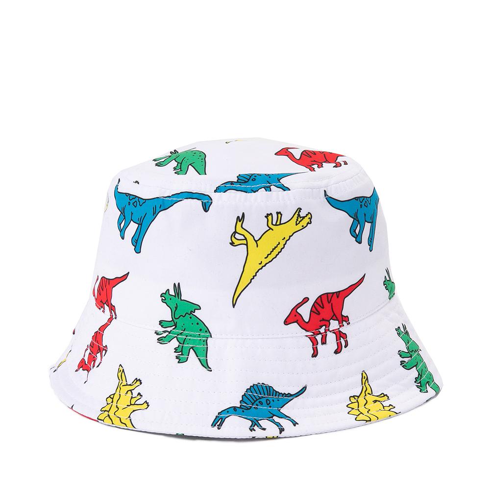Dinosaur Bucket Hat - Little Kid / Big Kid - White