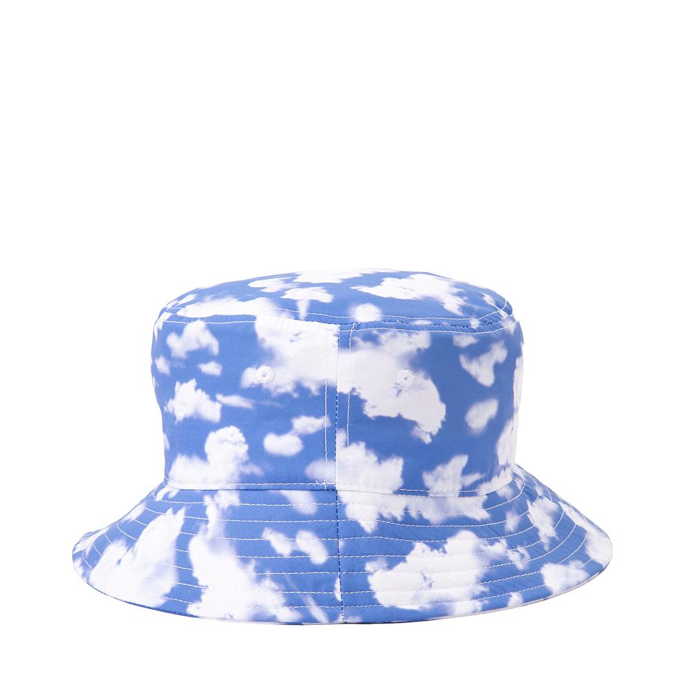 Cloud Print Bucket Hat - Blue / White