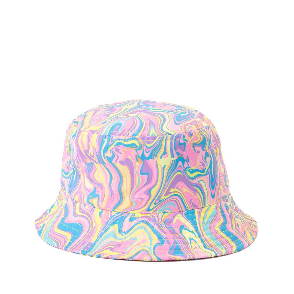 Paint Swirl Bucket Hat - Multicolor