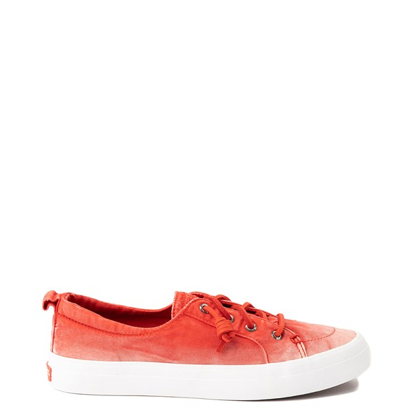 Main view of Womens Sperry Top-Sider Crest Vibe Platform Casual Shoe - Red Ombre