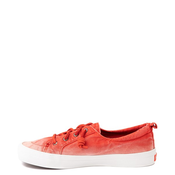 alternate view Womens Sperry Top-Sider Crest Vibe Platform Casual Shoe - Red OmbreALT1