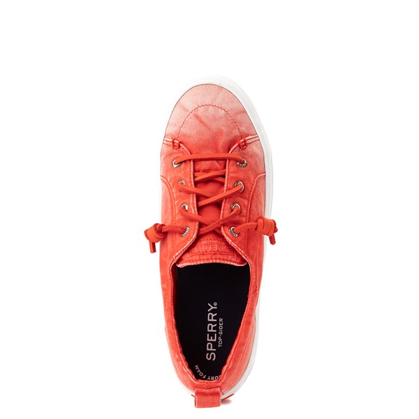 alternate view Womens Sperry Top-Sider Crest Vibe Platform Casual Shoe - Red OmbreALT2