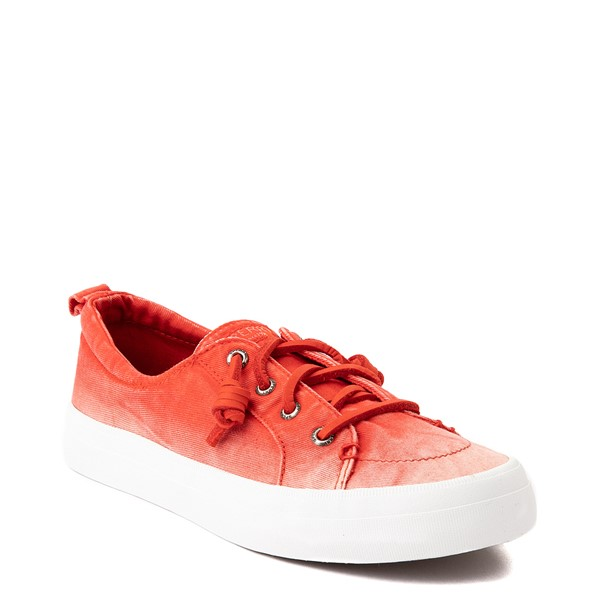 alternate view Womens Sperry Top-Sider Crest Vibe Platform Casual Shoe - Red OmbreALT5