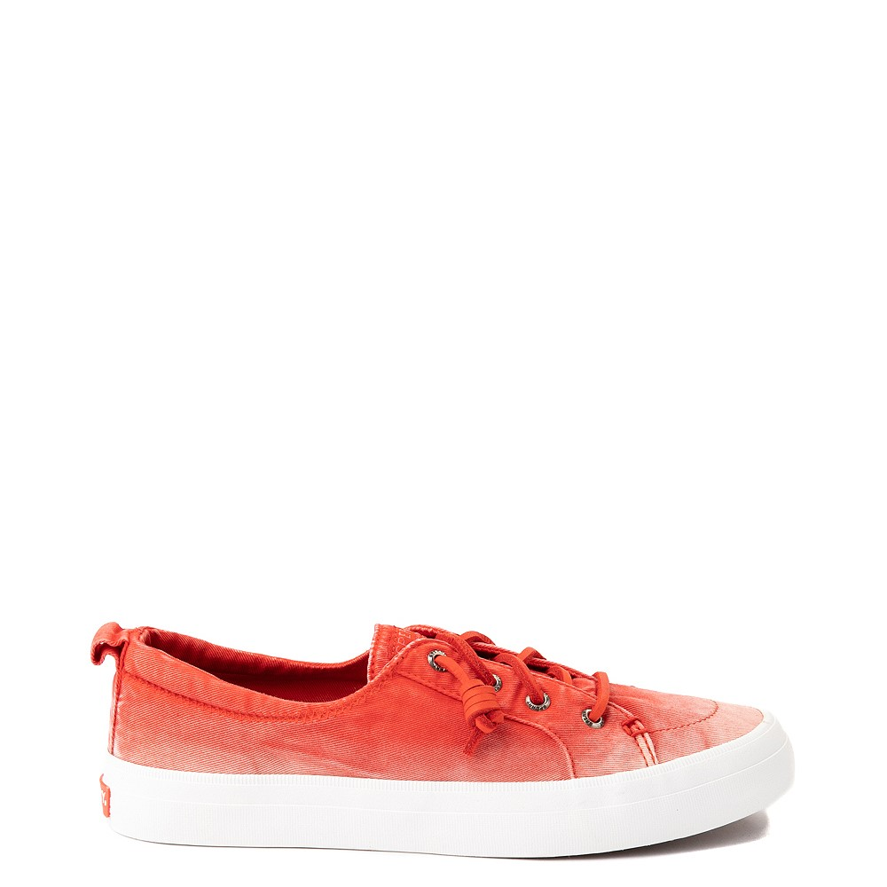 Womens Sperry Top-Sider Crest Vibe Platform Casual Shoe - Red Ombre