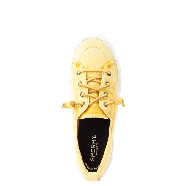 alternate view Womens Sperry Top-Sider Crest Vibe Platform Casual Shoe - Yellow OmbreALT2