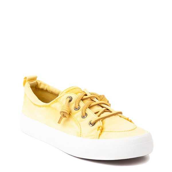 alternate view Womens Sperry Top-Sider Crest Vibe Platform Casual Shoe - Yellow OmbreALT5