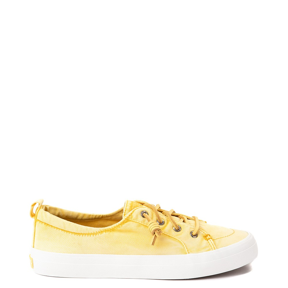 Womens Sperry Top-Sider Crest Vibe Platform Casual Shoe - Yellow Ombre