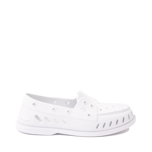 Main view of Womens Sperry Top-Sider Authentic Original Float Boat Shoe - White