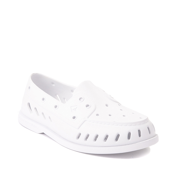 alternate view Womens Sperry Top-Sider Authentic Original Float Boat Shoe - WhiteALT5