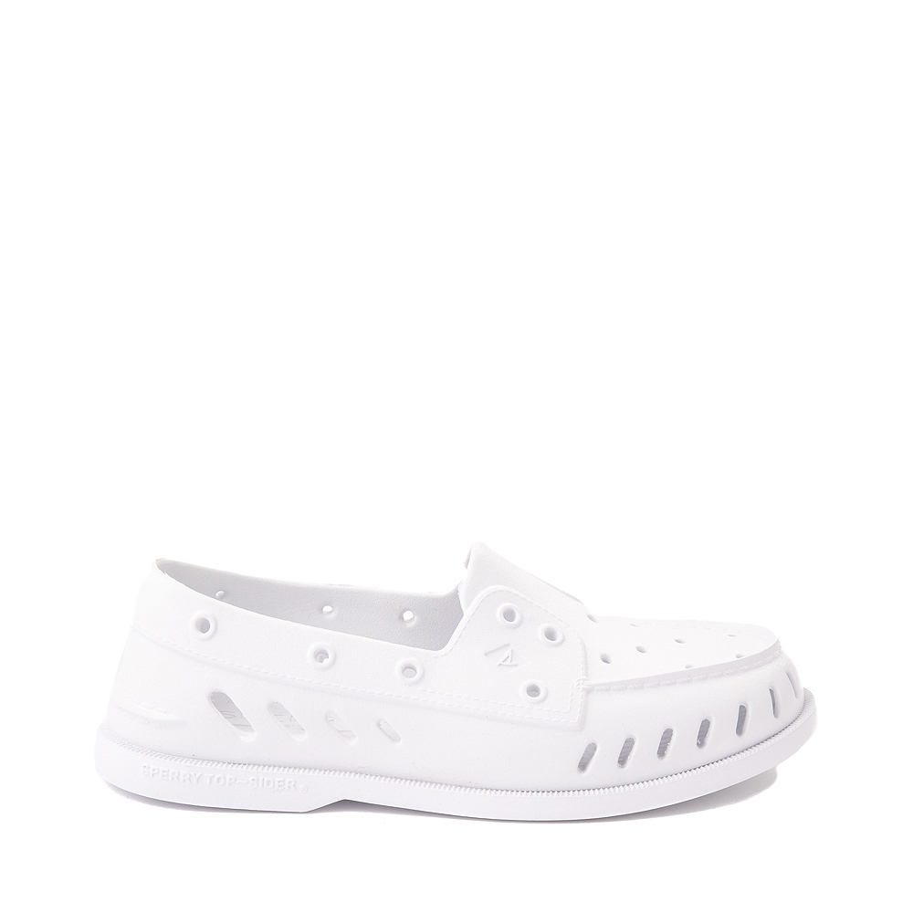 Womens Sperry Top-Sider Authentic Original Float Boat Shoe - White