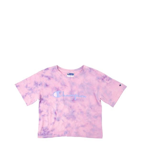 Champion Sun Wash Tee - Little Kid / Big Kid - Pink Tie Dye
