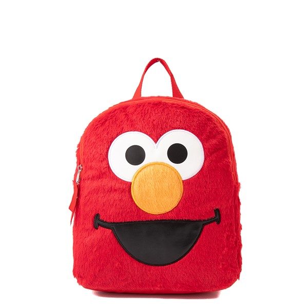 Seasame Street Elmo Plush Backpack - Red