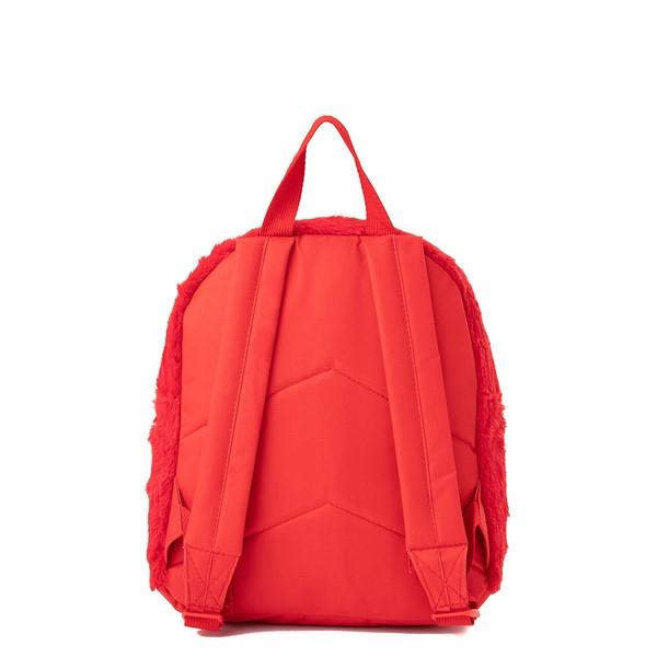 alternate view Seasame Street Elmo Plush Backpack - RedALT2