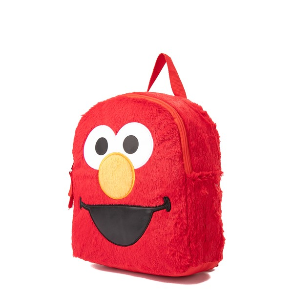 alternate view Seasame Street Elmo Plush Backpack - RedALT4