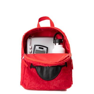 Alternate view of Seasame Street Elmo Plush Backpack - Red