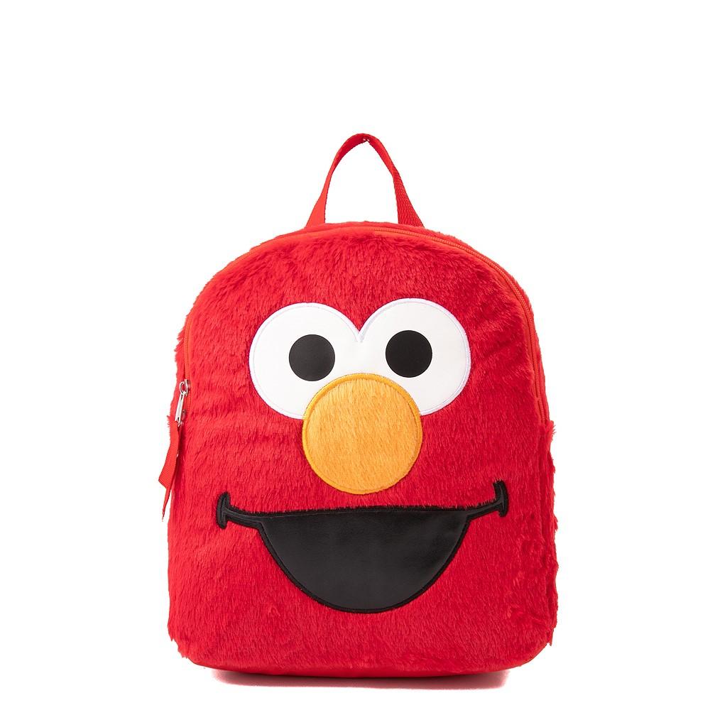 Seasame Street Elmo Plush Backpack - Red