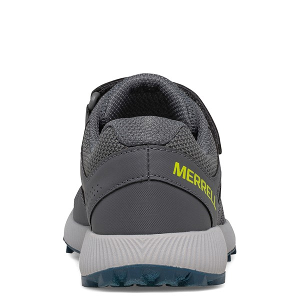 alternate view Merrell Nova 2 Sneaker - Little Kid / Big Kid - Monument GrayALT4B