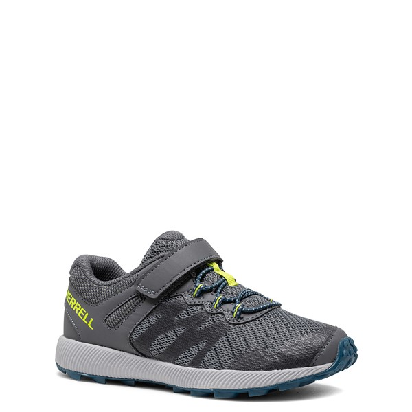 alternate view Merrell Nova 2 Sneaker - Little Kid / Big Kid - Monument GrayALT5
