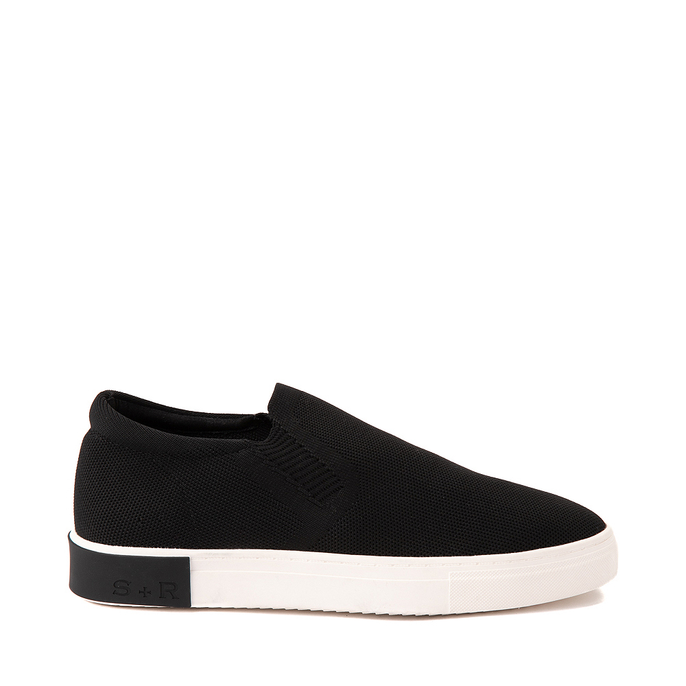 Mens Strauss and Ramm Slip On Casual Shoe - Black