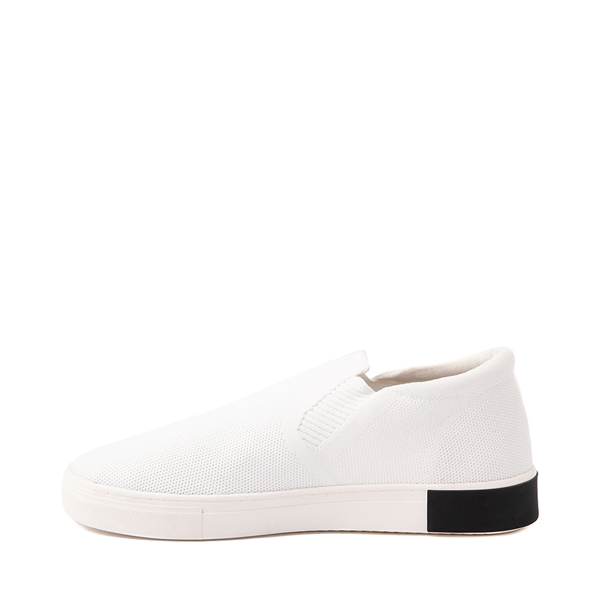 alternate view Mens Strauss and Ramm Slip On Casual Shoe - WhiteALT1