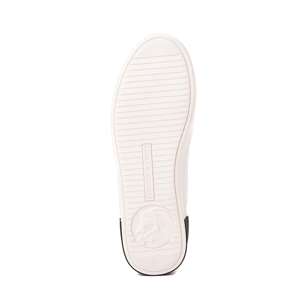 alternate view Mens Strauss and Ramm Slip On Casual Shoe - WhiteALT3