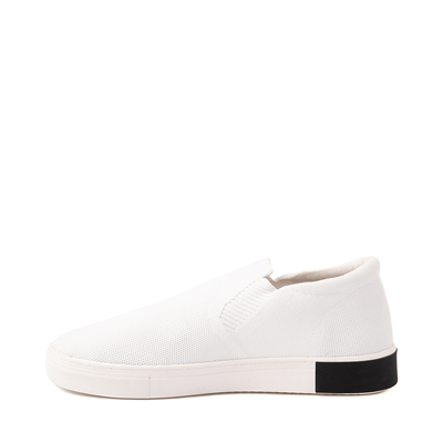 Alternate view of Mens Strauss and Ramm Slip On Casual Shoe - White