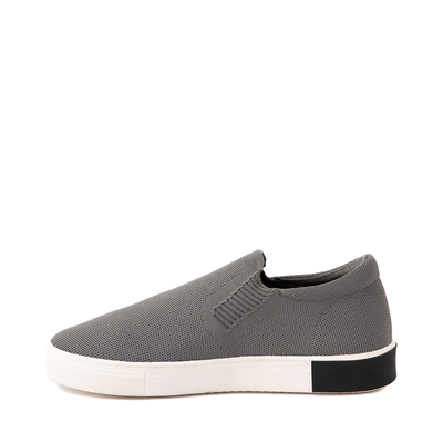 Alternate view of Mens Strauss and Ramm Slip On Casual Shoe - Gray