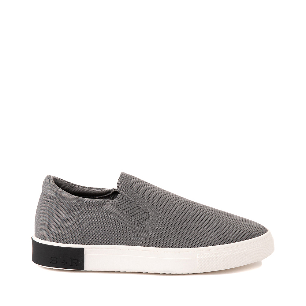 Mens Strauss and Ramm Slip On Casual Shoe - Gray