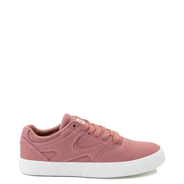 Main view of Womens DC Kalis Vulc Skate Shoe - Blush
