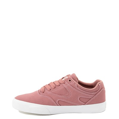 Alternate view of Womens DC Kalis Vulc Skate Shoe - Blush