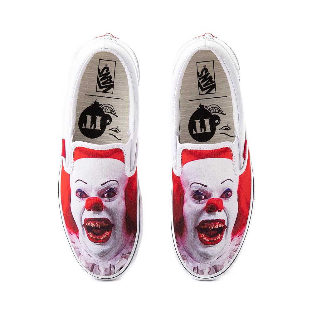 Vans x Horror Slip On It Skate Shoe - White