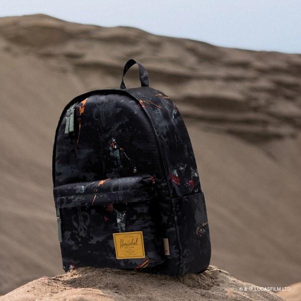 alternate view Star Wars™ x Herschel Supply Co. Boba Fett Classic XL Backpack - GrayALT1B